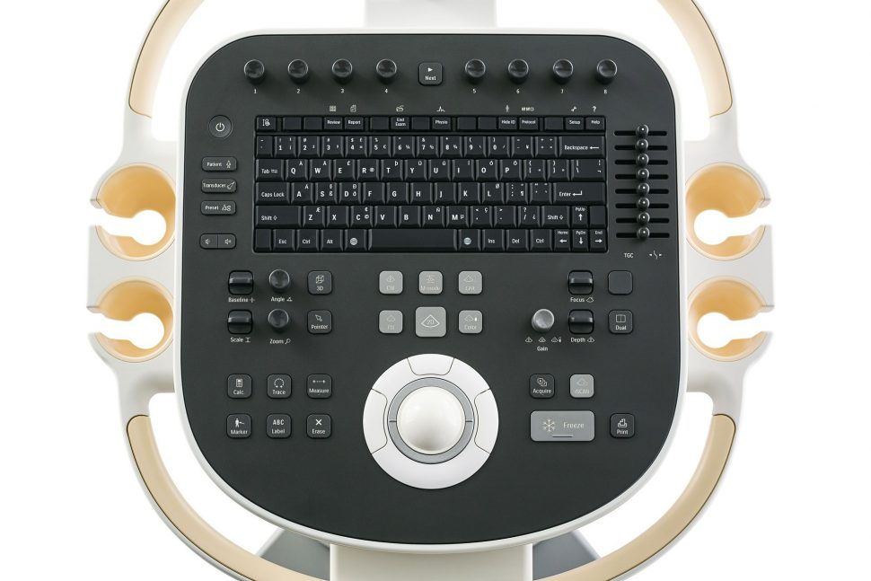 Philips ClearVue 650 Control Panel